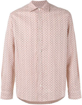 Etro geometric dot print shirt