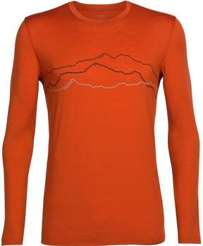 Icebreaker Tech Lite Long-Sleeve Crewe Toughest Triple Shirt