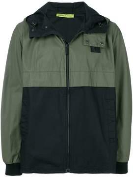 Versace hooded contrast jacket