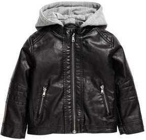 H&M Pile-lined Biker Jacket