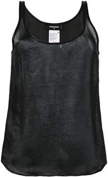 DSQUARED2 shimmer tank top