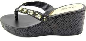 Thalia Sodi Womens Casandra Fabric Open Toe Casual Slide Sandals.
