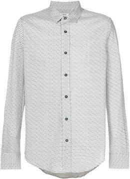 Dirk Bikkembergs classic pattern shirt