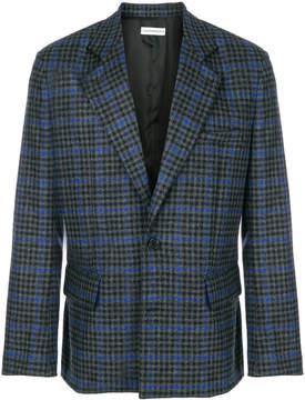 Gosha Rubchinskiy houndstooth check blazer