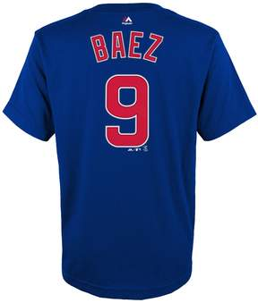 Majestic Boys 4-18 Chicago Cubs Javier Baez Player Name and Number Tee