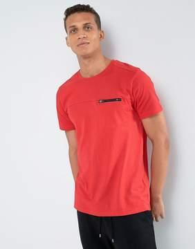 Loyalty And Faith Zip Detail T-Shirt