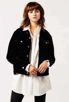 Azalea Classic Velvet Jacket