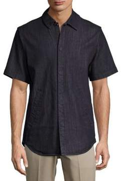 Publish Short-Sleeve Denim Shirt