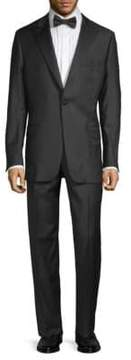 Hickey Freeman Wool Peak Lapel Tuxedo