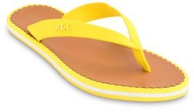 Lauren Ralph Lauren Ryanne Yelnu Vibrant Thong Sandal