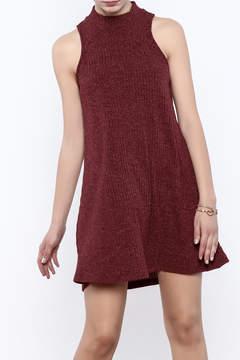 Veronica M Sleeveless Sweater Dress