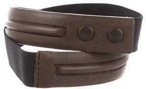 Lanvin Lambskin Waist Belt
