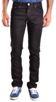 Richmond Men's Black Cotton Jeans.
