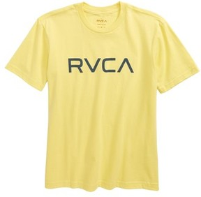 RVCA Boy's Logo Graphic T-Shirt