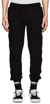 RtA Men's Side-Zip Cotton Jogger Pants