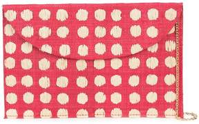 Kayu spot print clutch bag