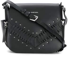 Diesel studded shoulder bag