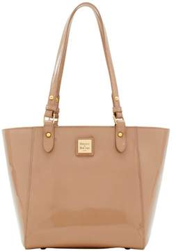 Dooney & Bourke Patent Janie Tote - LIGHT TAUPE - STYLE