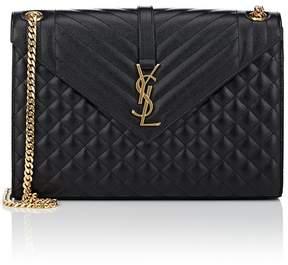 Saint Laurent Women's Monogram Large Leather Chain Bag