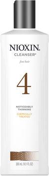 Nioxin System 4 Cleanser Shampoo - 10.1 oz.