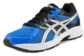 Asics Gel-contend 3 Gs Youth W Round Toe Synthetic Blue Running Shoe.