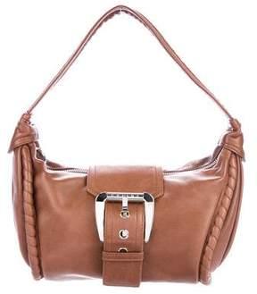Celine Leather Buckle Hobo