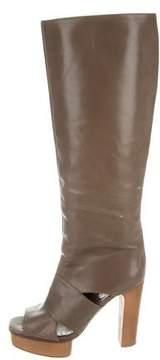 Marni Cutout Knee-High Boots