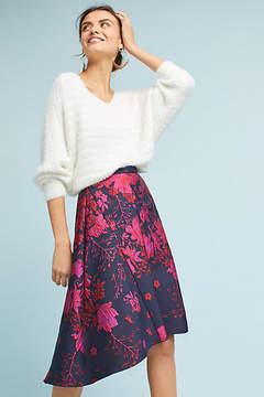 Eva Franco Jacquard Asymmetrical Skirt