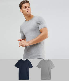 Jack and Jones Core Muscle Fit T-Shirt Multipack SAVE