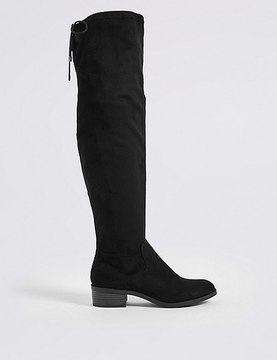 Marks and Spencer Block Heel Over the Knee Boots
