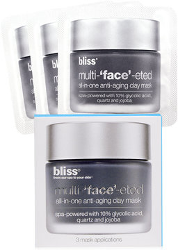 Bliss Multi-Face-Eted 3 Packette Face Set