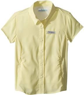 Columbia Kids Tamiami Short Sleeve Shirt Girl's Short Sleeve Button Up