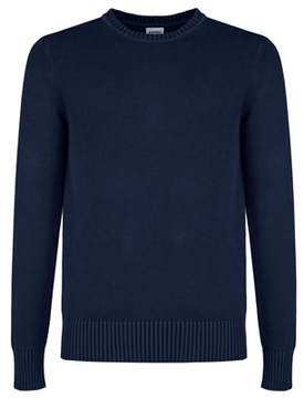 Aspesi Men's Blue Cotton Sweater.