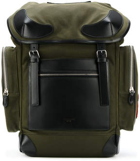 Givenchy leather trimmed Rider backpack