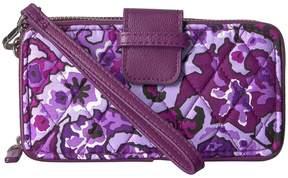 Vera Bradley RFID Smartphone Wristlet Wristlet Handbags - AUTUMN LEAVES - STYLE