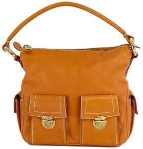Marc Jacobs Orange Multi Pocket Calf Leather Purse - ORANGE - STYLE