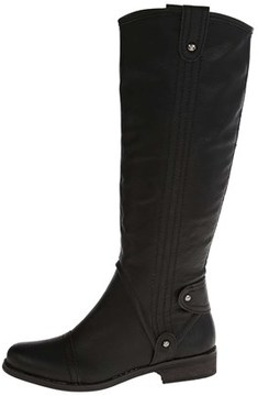 DOLCE by Mojo Moxy Womens Renegade Closed Toe Knee High Fashion, Black, Size 9.0.