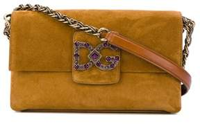 Dolce & Gabbana Dolce E Gabbana Women's Brown Leather Shoulder Bag. - BROWN - STYLE