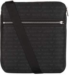 Armani Jeans Logo Motif Shoulder Bag