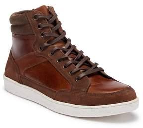 Crevo Seiler High-Top Leather Sneaker