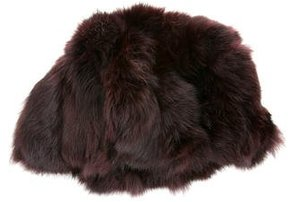 Adrienne Landau Rabbit Fur Hat