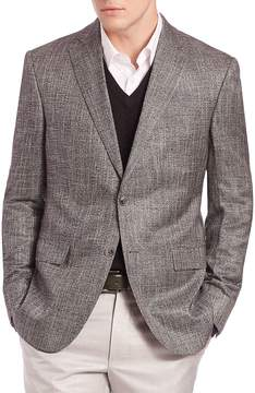 Jack Victor Men's COLLECTION Bamboo Sportcoat