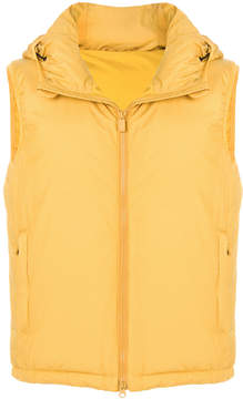 Aspesi hooded padded gilet