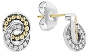Lagos Women's Enso Diamond Stud Earrings