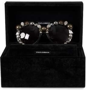 Dolce & Gabbana Butterfly Sunglasses Dg4266 29168g 55 | Translucent Gray | Gray Gradient Lenses.