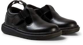 Dr. Martens Black Ryan Toddler Leather Shoes