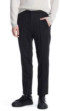 HUGO BOSS Brio Wool Blend Front Seam Pants