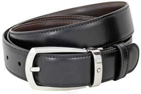 Montblanc Reversible Leather Horseshoe Belt