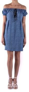philosophy Women's Light Blue Silk Dress.