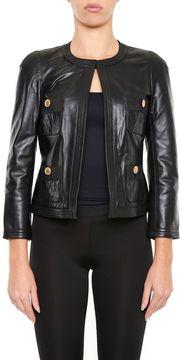 Edward Achour Leather Jacket